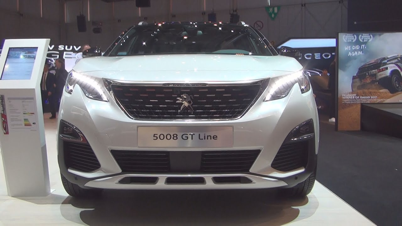 Peugeot 5008 gt line thp 165 s s eat6 2017 exterior and for Interior 5008 gt line