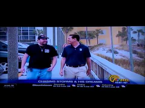WJHG News Channel 7 Faces and Places featuring me Joseph Mandeville