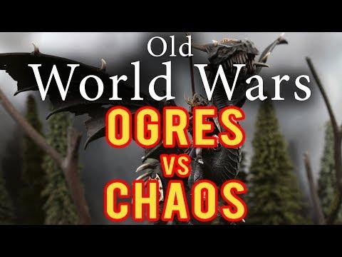 Ogres vs Chaos Daemons Warhammer Fantasy Battle Report - Old World Wars Ep 281
