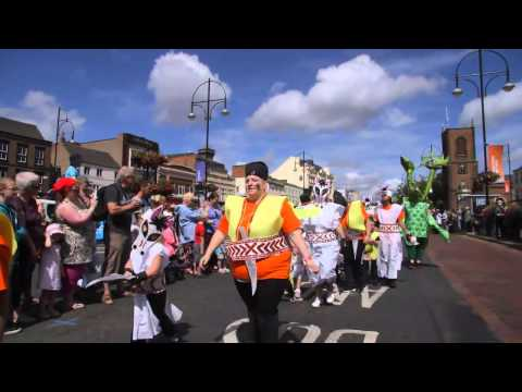 Stockton International Riverside Festival 2013 - Community Carnival - Stories of the World