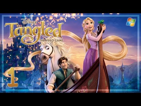 Disney Tangled: The Video Game - Part 1