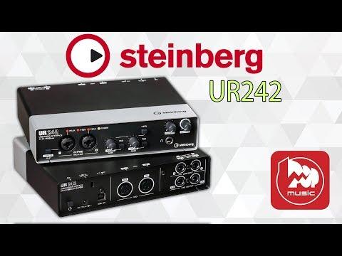 STEINBERG UR242 Звуковая карта с DSP процессором