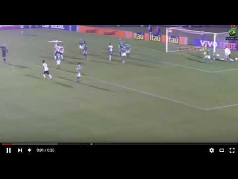 Gols:Coritiba 3x4 Chapecoense 01/06/16(Brasileirao serie a)