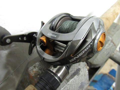 QUANTUM ENERGY E100 BAITCAST REEL REVIEW
