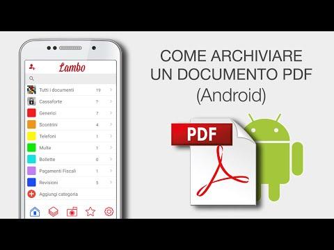 Archivia Un Documento PDF (Android) - Video Tutorial