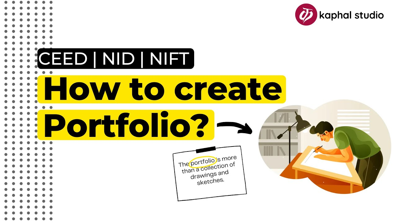 How to create Portfolio? | CEED | NID | NIFT