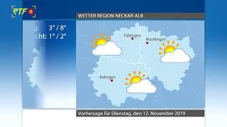 RTF.1-Wetter 11.11.2019