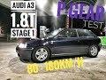 Geht noch was?? Audi A3 1.8T | Fremdsoftware | Neue Stage 1 | 4Ward-Performance