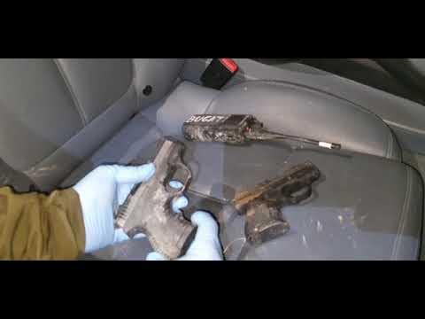 Nueva embestida de los narcos, esta vez a un coche de la Guardia Civil