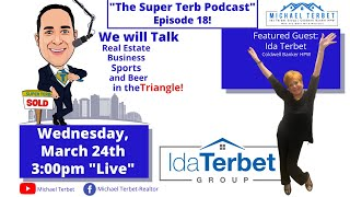 The Super Terb Podcast-Episode 18-Featured Guest: Ida Terbet