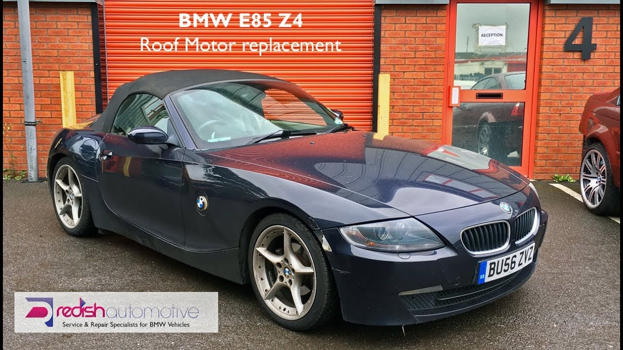 Bmw E85 Z4 Roof Motor Replaced And Roof Drains Unblocked