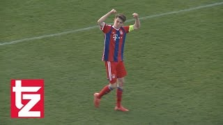 1860 München vs. FC Bayern 0:1 - Scholl entscheidet Junioren-Derby - U19-Bundesliga 2014/2015