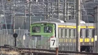 E231系ミツB15編成入場―構内移動 長野総合車両センター