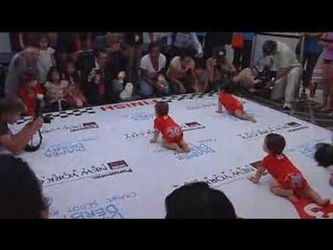 New York: Cuộc thi các bé ai bò nhanh hơn