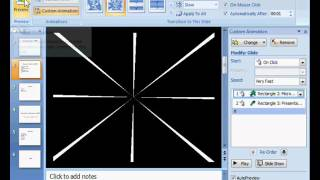 MS Powerpoint 2007 Tutorial in Hindi - animation