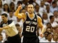 The Spurs Execute a Beautiful Basketball Play to Perfection