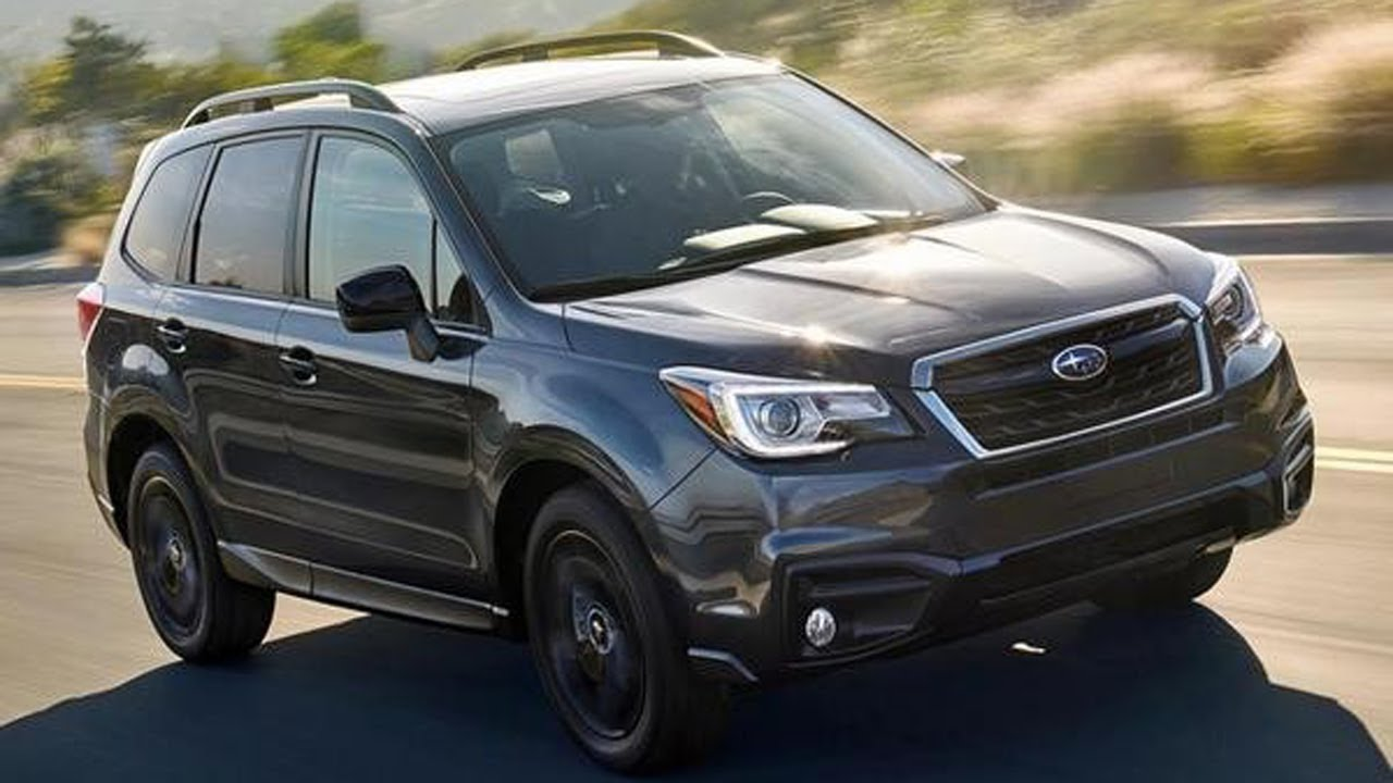 2018 Subaru Forester adds new Black Edition Package will start at