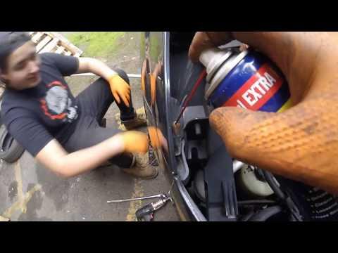 Как вытянуть двигатель Ford Focus 1.8 td \ How to pull out the engine