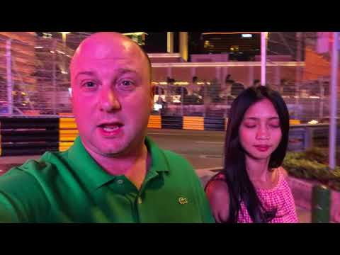Walking around Macau at Night