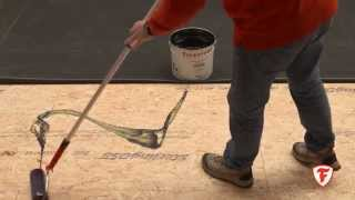 How to apply RubberCover Bonding Adhesive BA-2012 | Firestone RubberCover EPDM