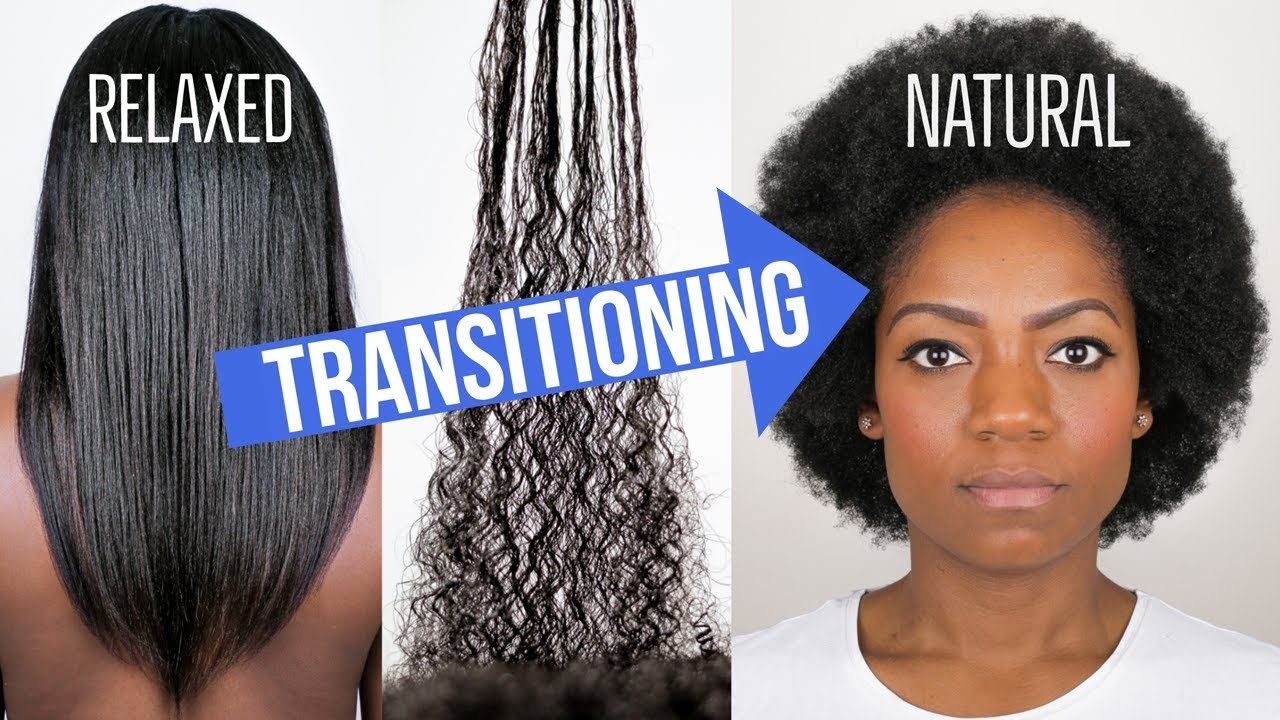 Transitioning Hair Vs  Natural Hair