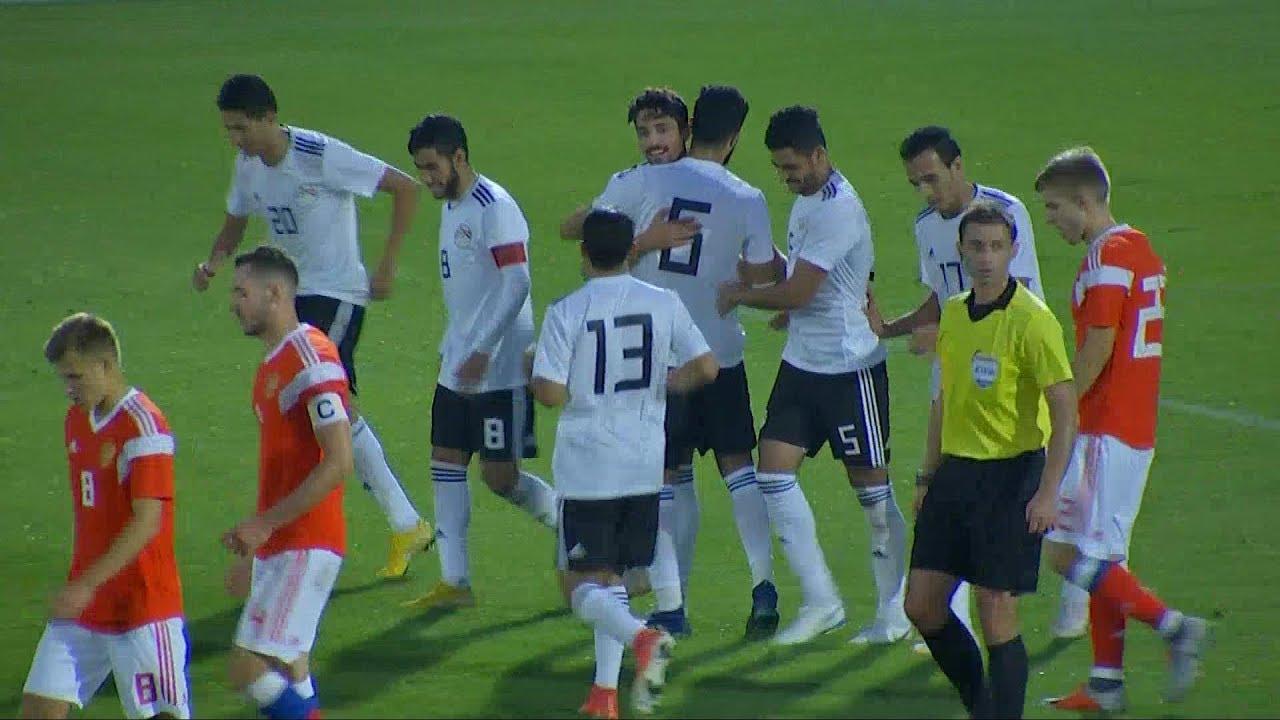 أهداف مباراة منتخب مصر الأولمبي وروسيا الأولمبي 1 1 مباراة ودية 201897
