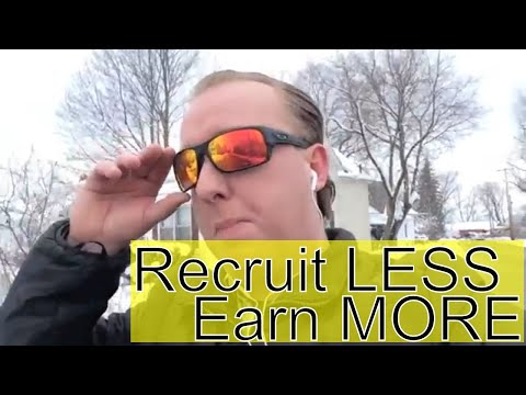 HOW TO RECRUIT WITHOUT RECRUITING AND MAKE MORE MONEY IN YOUR NETWORK MARKETING BUSINESS