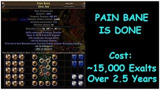 Pain Bane is Done (THE HIGHEST DPS WEAPON IN PATH OF EXILE) | demi
