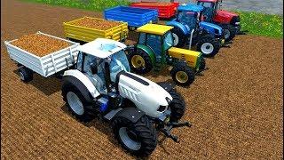 Landwirtschaft Traktor Sammlung 🚜 Trecker Simulator fahren screenshot 4