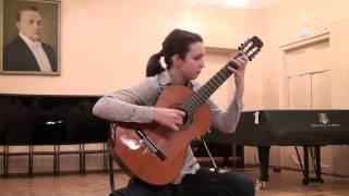 �������� ���� Каркасси – Этюд ор. 60 №14. Matteo Carcassi Etude op. 60 no. 14 ������