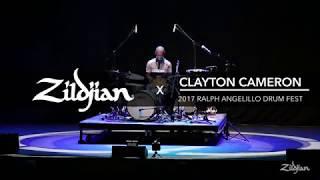 Clayton Cameron - The Ralph Angelillo International Drum Fest 2017