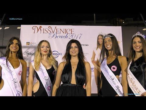 Miss Venice Beach 2017 Sfilata Bikini, e Abito 1^ Tappa Jesolo