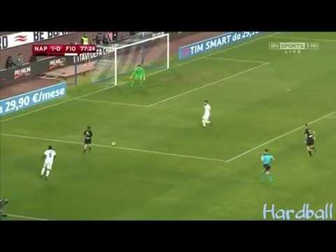 Amazing skill Lorenzo Insigne Vs Fiorentina  24-01-17
