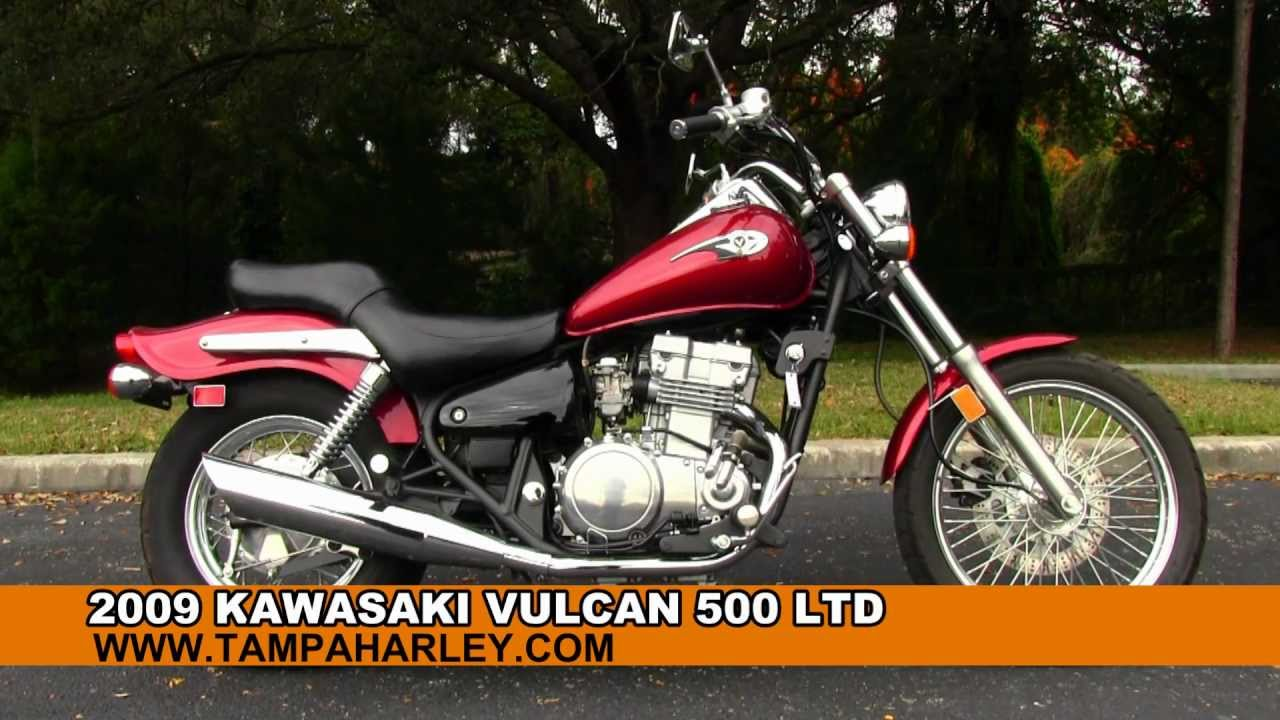used 2009 kawasaki vulcan 500 ltd for sale youtube. Black Bedroom Furniture Sets. Home Design Ideas