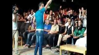 Najim sur la scène du festival de Djemila (Sétif) 2012