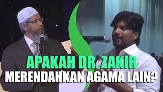 """""""Dr. Zakir Naik, Kenapa Anda Suka Menghina Agama Kristen?"""" Tanya Bapak Ini"""