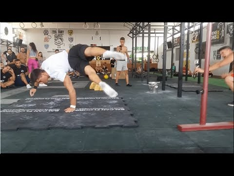 Epic street workout battles in Athens Greece.