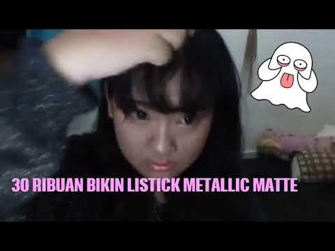 30 Ribu an Cara buat lipstick metallic matte(diy lipstick metallic matte)