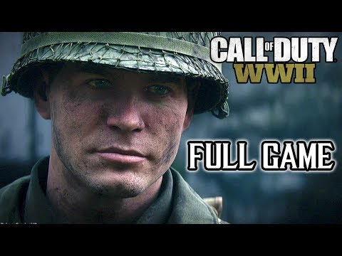 Call Of Duty: WORLD WAR II FULL GAME Walkthrough (PS4 Pro) @ 1080p (60ᶠᵖˢ) HD ✔