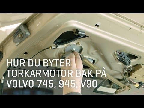 Berömda Hur du byter torkarmotor bak på Volvo 745, 945, V90. - VPARTS.SE SV-27