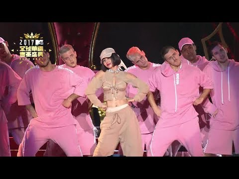 2017 MTV全球華語音樂盛典-Jolin 蔡依林(大藝術家+迷幻+美人計+PLAY我呸)