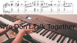헤이즈 (Heize) - We Don't Talk Together (Piano Cover) by. Ramong