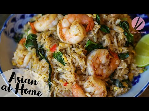 The BEST Basil Fried Rice