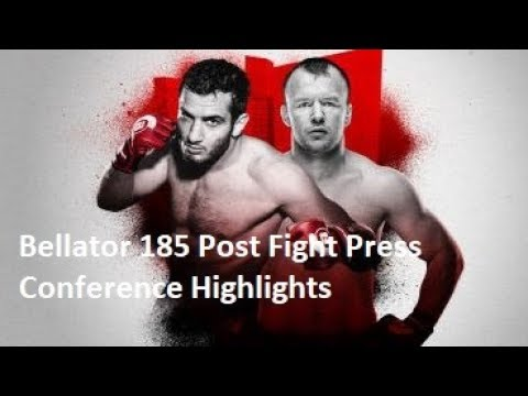 Bellator 185 Post Fight Press Conference Highlights