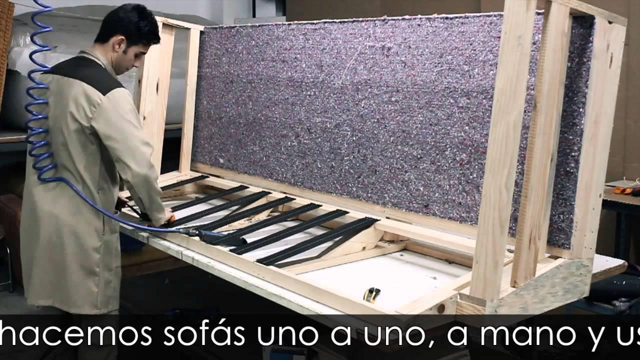 Tapizado de sof con funda youtube - Como tapizar un sofa ...