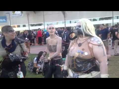Mad Max Cosplay Near Hall H #SDCC - Zennie62