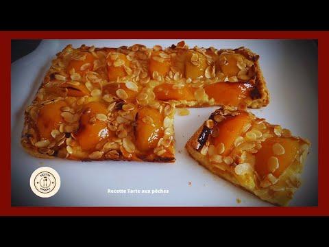 recette-tarte-aux-pêches-(facile,-rapide)