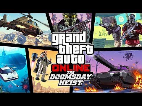 GTA 5 - $75,000,000 Spending Spree, Part 3! NEW GTA 5 DOOMSDAY HEIST DLC SHOWCASE!