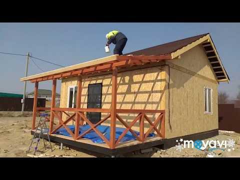 Как построить террасу своими руками
