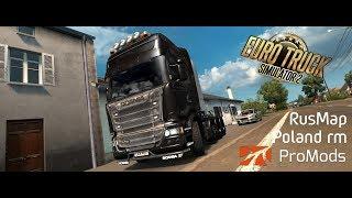 """Monday morning Euro truck simulator 2 - map @ 60% - Simucube + Triple 34"""" Ultrawide"""